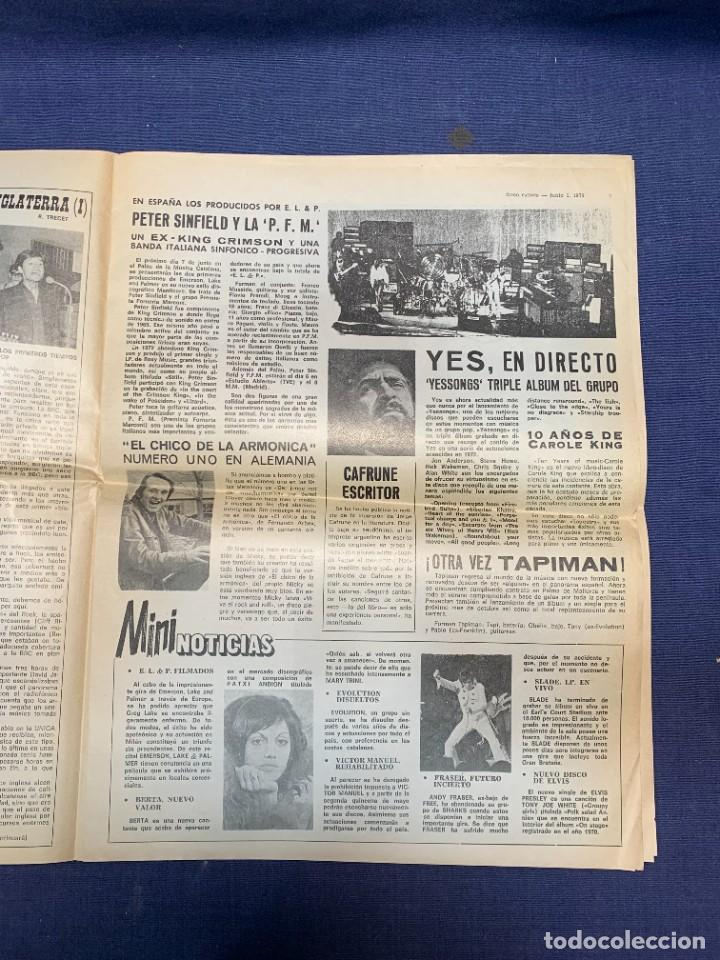 Revistas de música: PERIODICO DISCO EXPRES Nº 226 AÑO 1973 LED ZEPPELIN 35X27CMS - Foto 14 - 270943263
