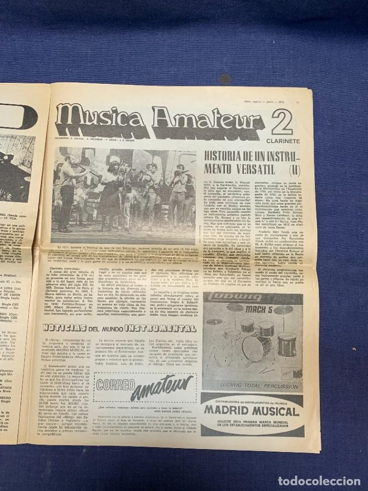 Revistas de música: PERIODICO DISCO EXPRES Nº 226 AÑO 1973 LED ZEPPELIN 35X27CMS - Foto 15 - 270943263