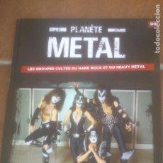 Revistas de música: KISS PLANETE METAL. Lote 272269298