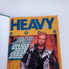 Riviste di musica: HEAVY ROCK Nº 37 AL 45 - NUEVE REVISTAS ENCUADERNADAS 1986 -1987 // 38 39 40 41 42 43 44 METAL HARD. Lote 272747388