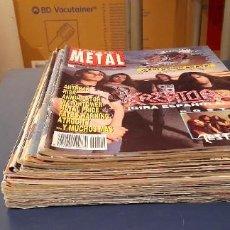 Revistas de música: LOTE REVISTAS ROCK ☆ METAL HAMMER 21 NUMEROS. Lote 273596468