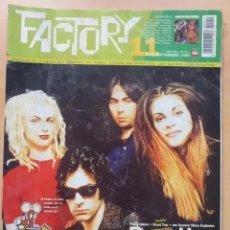 Revistas de música: FACTORY NUM 11. BOSS HOG, JON SPENCER BLUES EXPLOSION, PUSSY GALORE, ROYAL TRUX. Lote 274028378