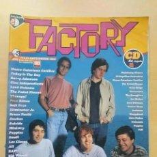 Revistas de música: REVISTA FACTORY NUM 3. PENELOPE TRIP NUEVO CATECISMO CATOLICO BARRY ADAMSON, MINISTRY, LOS CLAVOS. Lote 274028508
