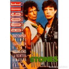 Revistas de música: REVISTA BOOGIE #20 . THE ROLLING STONES TRACY CHAPMAN TRANSVISION VAMP PRINCE. Lote 275913673