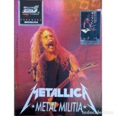 Riviste di musica: REVISTA ESPECIAL POPULAR 1 #110 (METALLICA). Lote 275915423