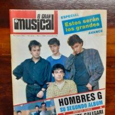 Riviste di musica: REVISTA EL GRAN MUSICAL. N°266. ABRIL 1986. CON EL POSTER. BUEN ESTADO.. Lote 275922038