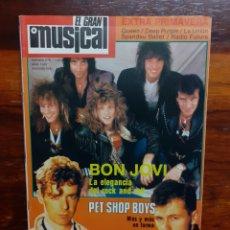 Riviste di musica: REVISTA EL GRAN MUSICAL. N°278. ABRIL 1987. EXTRA PRIMAVERA. CON EL POSTER. BUEN ESTADO.. Lote 275926523