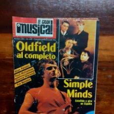 Riviste di musica: REVISTA EL GRAN MUSICAL. N°264. FEBRERO 1986. SIN EL POSTER. BUEN ESTADO.. Lote 275927083