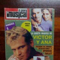 Riviste di musica: REVISTA EL GRAN MUSICAL. N°270. AGOSTO 1986. CON EL POSTER. BUEN ESTADO.. Lote 275927608