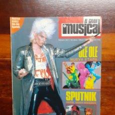 Riviste di musica: REVISTA EL GRAN MUSICAL. N°267. MAYO 1986. SIN EL POSTER. BUEN ESTADO.. Lote 275928353