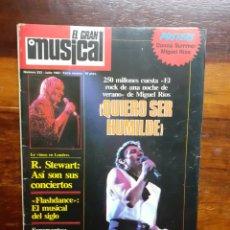 Riviste di musica: REVISTA EL GRAN MUSICAL. N°233. JULIO 1983. SIN EL POSTER. BUEN ESTADO.. Lote 275929023