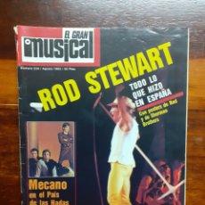 Riviste di musica: REVISTA EL GRAN MUSICAL. N°234. AGOSTO 1983. SIN EL POSTER. BUEN ESTADO.. Lote 275929708