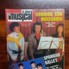 Riviste di musica: REVISTA EL GRAN MUSICAL. N°271. SEPTIEMBRE 1986. CON EL POSTER. BUEN ESTADO.. Lote 275930293