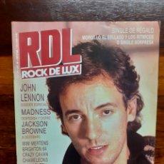 Riviste di musica: REVISTA RDL ROCK DE LUX. N°25. DICIEMBRE 1986. BUEN ESTADO.. Lote 275932163