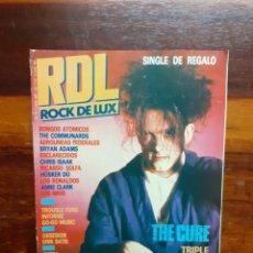 Magazines de musique: REVISTA RDL ROCK DE LUX. N°31. JUNIO 1987. BUEN ESTADO.. Lote 275933218