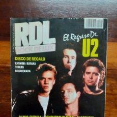 Riviste di musica: REVISTA RDL ROCK DE LUX. N°28. MARZO 1987. BUEN ESTADO.. Lote 275933648