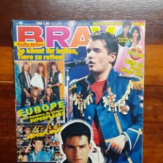 Riviste di musica: REVISTA BRAVO. N°46. NOVIEMBRE 1986. EDICION ALEMANA. CON VARIOS POSTERS DE EUROPE, TOM CRUISE ..... Lote 275940048