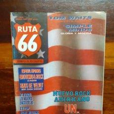 Riviste di musica: REVISTA RUTA 66 TIEMPOS DE ROCK & ROLL. N°3. ENERO 1986. BUEN ESTADO.. Lote 275943808