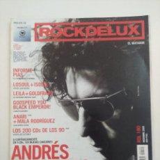 Revistas de música: ROCKDELUX Nº180/ANDRES CALAMARO.. Lote 275994043