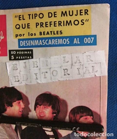Revistas de música: BEATLES REVISTA GARBO EJEMPLAR EDITORIAL ORIGINAL EPOCA ESPAÑA ABRIL 1965 COMPLETA EXCELENTE - Foto 2 - 276257878