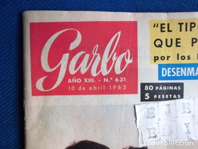 Revistas de música: BEATLES REVISTA GARBO EJEMPLAR EDITORIAL ORIGINAL EPOCA ESPAÑA ABRIL 1965 COMPLETA EXCELENTE - Foto 3 - 276257878