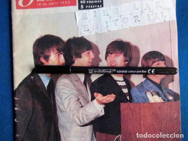 Revistas de música: BEATLES REVISTA GARBO EJEMPLAR EDITORIAL ORIGINAL EPOCA ESPAÑA ABRIL 1965 COMPLETA EXCELENTE - Foto 4 - 276257878