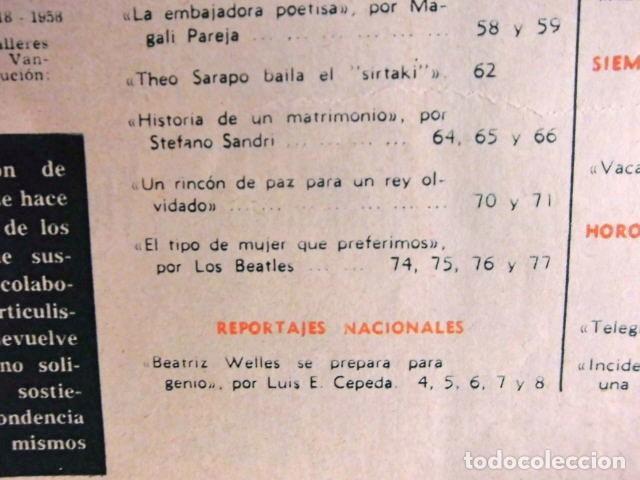 Revistas de música: BEATLES REVISTA GARBO EJEMPLAR EDITORIAL ORIGINAL EPOCA ESPAÑA ABRIL 1965 COMPLETA EXCELENTE - Foto 5 - 276257878