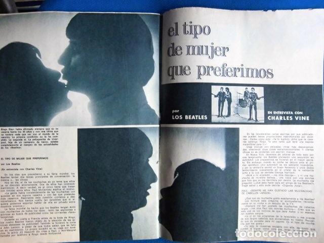 Revistas de música: BEATLES REVISTA GARBO EJEMPLAR EDITORIAL ORIGINAL EPOCA ESPAÑA ABRIL 1965 COMPLETA EXCELENTE - Foto 6 - 276257878