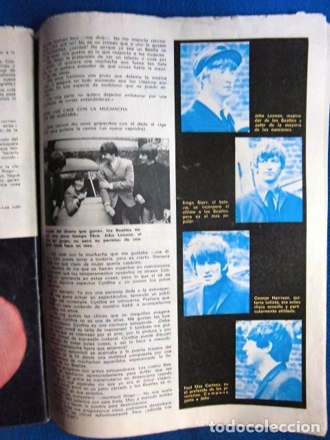 Revistas de música: BEATLES REVISTA GARBO EJEMPLAR EDITORIAL ORIGINAL EPOCA ESPAÑA ABRIL 1965 COMPLETA EXCELENTE - Foto 8 - 276257878