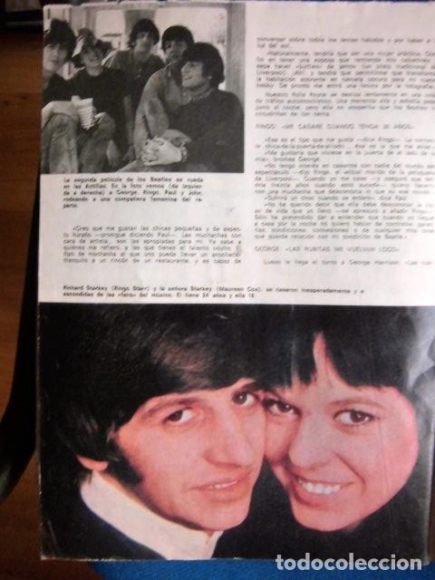 Revistas de música: BEATLES REVISTA GARBO EJEMPLAR EDITORIAL ORIGINAL EPOCA ESPAÑA ABRIL 1965 COMPLETA EXCELENTE - Foto 9 - 276257878