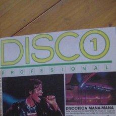 Revistas de música: DISCO 1 PROFESIONAL Nº 16 REVISTAS DE MUSICA AÑOS 80. Lote 276621423