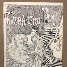 Revistas de música: EL INVERNADERO N° 1 (EXTREMADURA 1983). HISTÓRICO FANZINE ORIGINAL; COMIX MÚSICA (GRUPOS NUEVA OLA. Lote 276690793