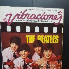 Revistas de música: VIBRACIONES THE BEATLES EN PORTADA Nº 16 - ENERO 1976 - VIBS BEATLES 1976 PDELUXE. Lote 276692808