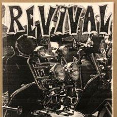 Magazines de musique: REVIVAL MODZINE N° 3 (BARCELONA 1985). HISTÓRICO FANZINE ORIGINAL; LOS NEGATIVOS, KAMENBERT,…. Lote 276713743