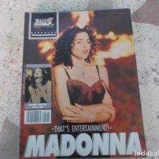 Magazines de musique: POULAR 1, ESPECIAL 115, MADONNA, POSTER 81 X 54, THAT´S ENTERTAINMENT. Lote 276784228