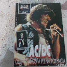 Riviste di musica: POULAR 1, ESPECIAL 106, POSTER NO LLEVA, AC/DC, QUINCE AÑOS A PLENA POTENCIA. Lote 276784508