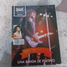 Magazines de musique: POULAR 1, ESPECIAL 112, POSTER 81 X 54, BON JOVI, UNA BANDA DE PLATINO. Lote 276785683