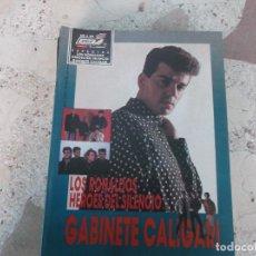 Magazines de musique: POULAR 1, ESPECIAL 102, POSTER 81 X 54, LOS RONALDOS LOS HEROES DEL SILENCIO, GABINETE CALIGARI. Lote 276787333