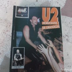 Magazines de musique: POULAR 1, ESPECIAL 103, POSTER 81 X 54, U2 HORIZONTES DE GRANDEZA. Lote 276788268