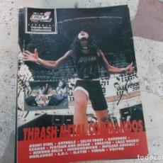 Magazines de musique: POULAR 1, ESPECIAL 105, POSTER 81 X 54, THRASH METAL COMMANDOS. Lote 276790158