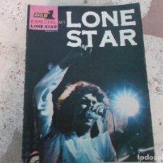 Magazines de musique: POULAR 1, ESPECIAL M1, LONE STAR. Lote 276791958