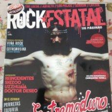 Revistas de música: ROCK ESTATAL REVISTA 5 EXTREMODURO REINCIDENTES SKIZOO UZZHUAÏA DOCTOR DESEO PORRETAS. Lote 277165488