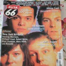 Revistas de música: RUTA 66 REVISTA 174 THE PIXIES THE NOMADS HELL'S ANGELS ART SCHOOL. Lote 277168013
