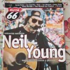 Revistas de música: RUTA 66 REVISTA 161 NEIL YOUNG NIRVANA SEX MUSEUM KARMA POLICE. Lote 277168728