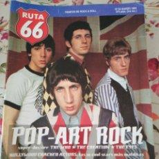 Revistas de música: RUTA 66 REVISTA 93 THE WHO LINK WRAY AUSTRALIAN BLONDE JIM CARROLL. Lote 277173038