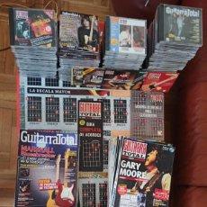 Revistas de música: LOTE REVISTAS GUITARRA TOTAL. 111 REVISTAS+CD. Lote 277723963