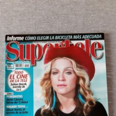 """Revistas de música: REVISTA """"SUPERTELE"""" MADONNA. Lote 278201368"""