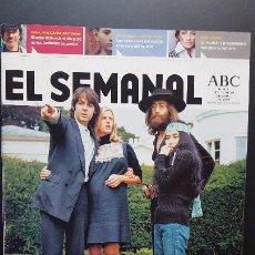 Revistas de música: EL SEMANAL - ABC LOS BEATLES NUNCA VISTOS EXCLUSIVA DIARIO MAL EVANS 2005 PDELUXE. Lote 278610748