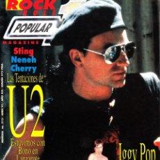 Revistas de música: REVISTA POPULAR 1 NUMERO 212 U2. Lote 280121408