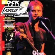 Revistas de música: REVISTA POPULAR 1 NUMERO 213 STING. Lote 280123008